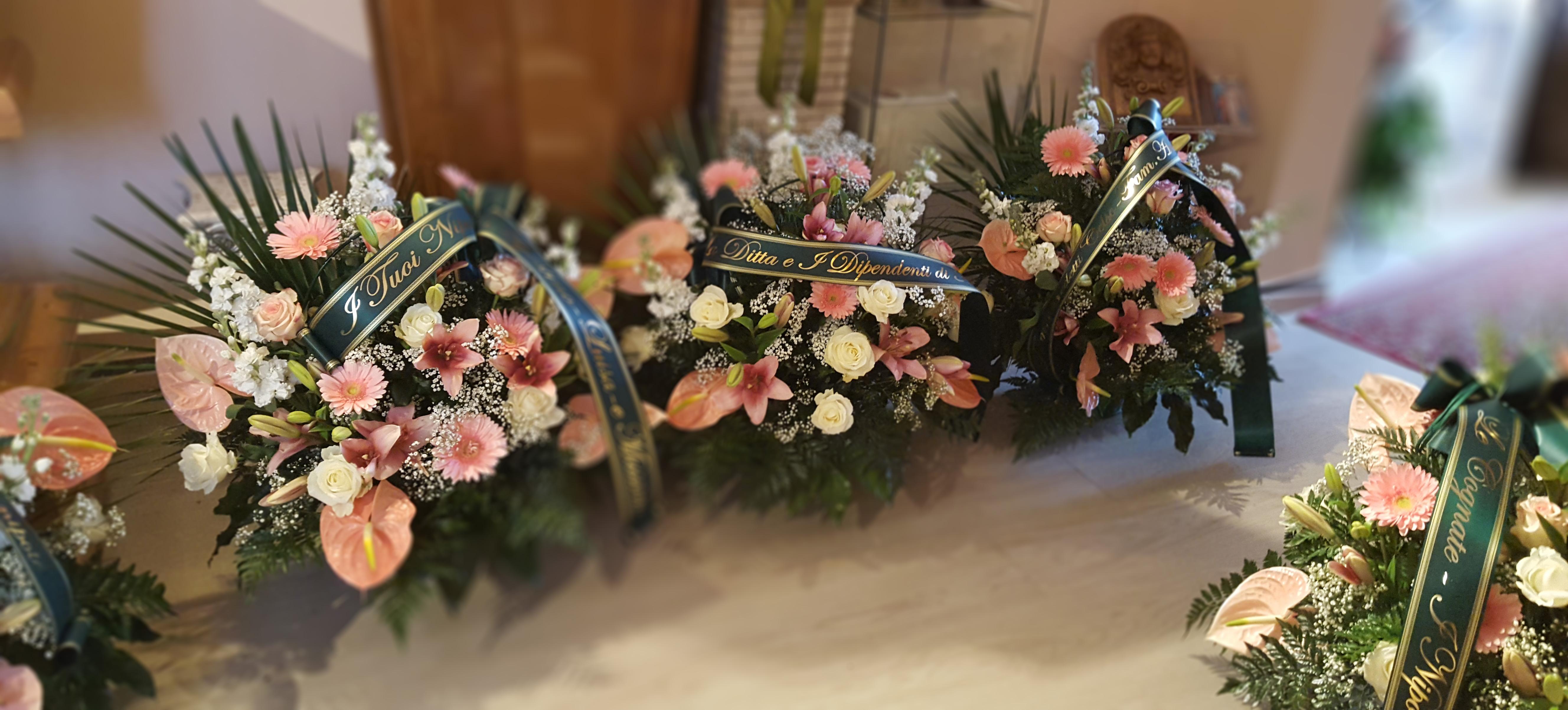 fiori per funerale riccione